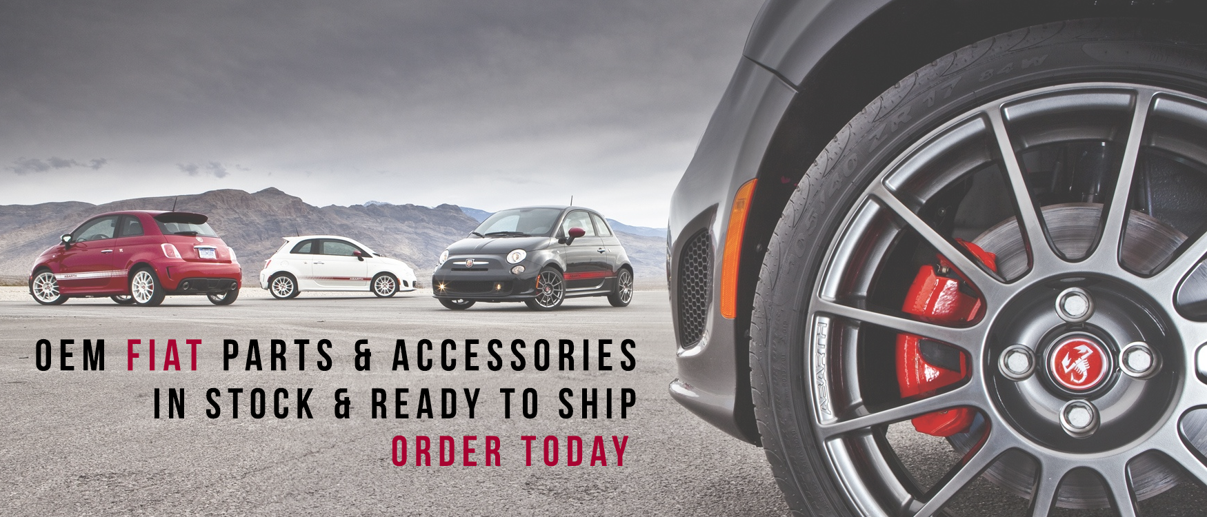 fiat automotive parts home page slider