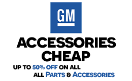 gm accessories cheap logo