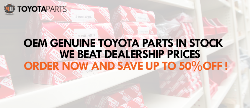 TOYOTA PARTS WEBSITE SLIDER