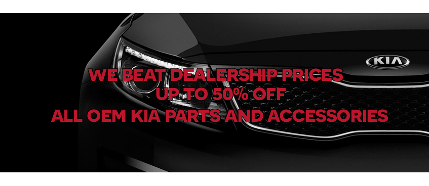 Kia parts dealer slider