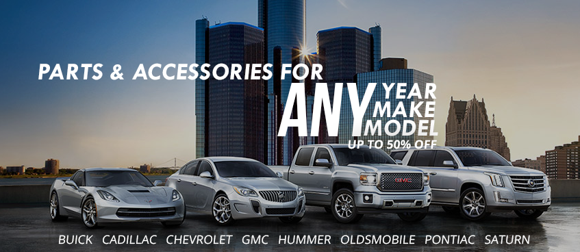 GM CAR PARTS AND ACCESSORIES