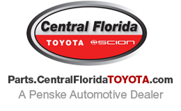 toyota parts central florida logo